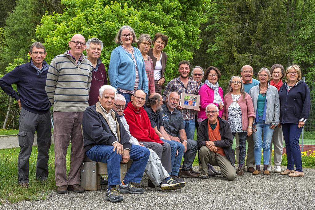 AG 2018, Hauteluce (Savoie) , les participants