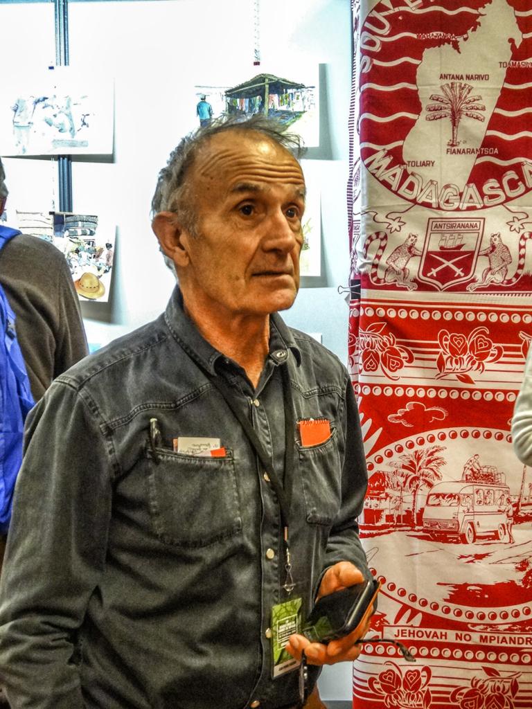 Jean-Pierre Frachon, guide de haute montagne. Il a fait l'ascension des plus hauts sommets de la Terre. C'est un des organisateurs du Rendez-Vous