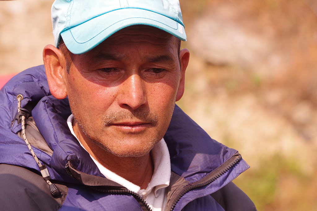Asherman Magar, maire de Rapcha