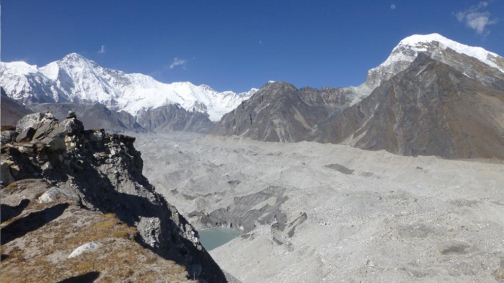 Glacier, Gokyo Népal 2012