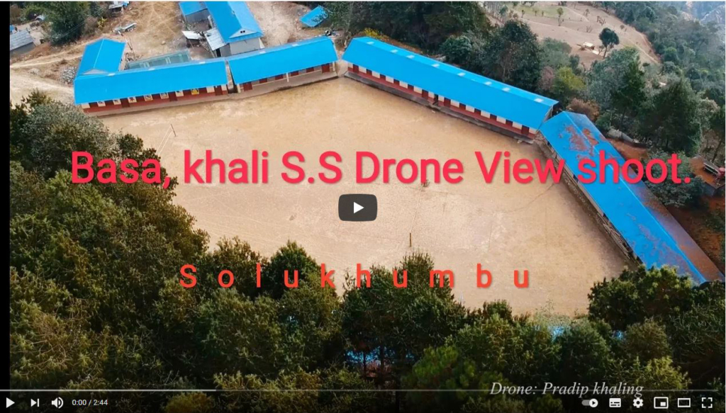Survol de Basa - video drone de Pradip Khaling
